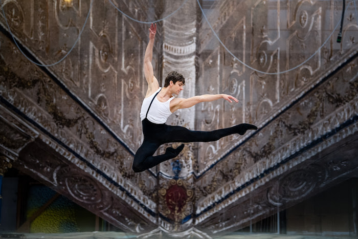 Friedemann Vogel, ballet dancer. Photo by Roman Novitzky.